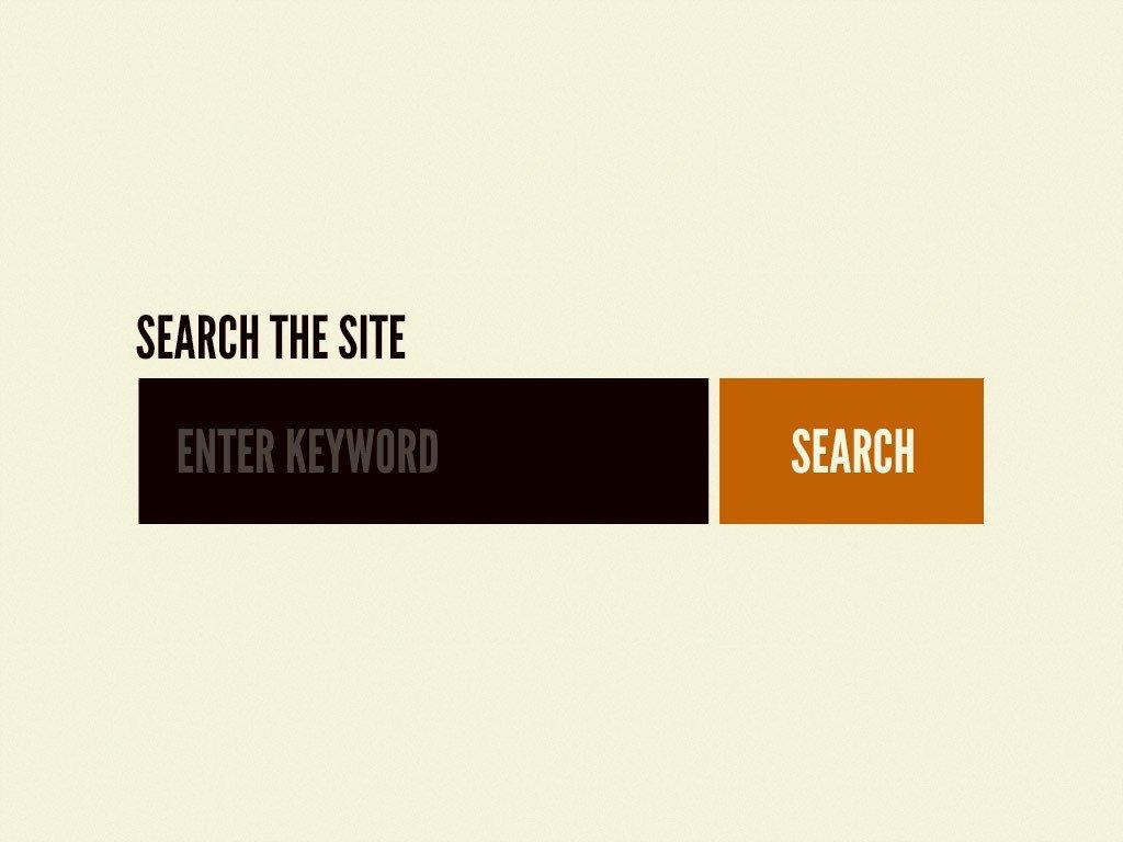 Exemplo de uma barra de pesquisa