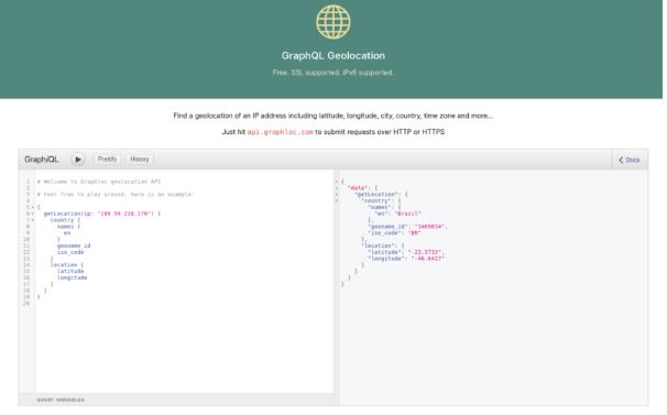 Imagem de um exemplo de projeto de GraphQL