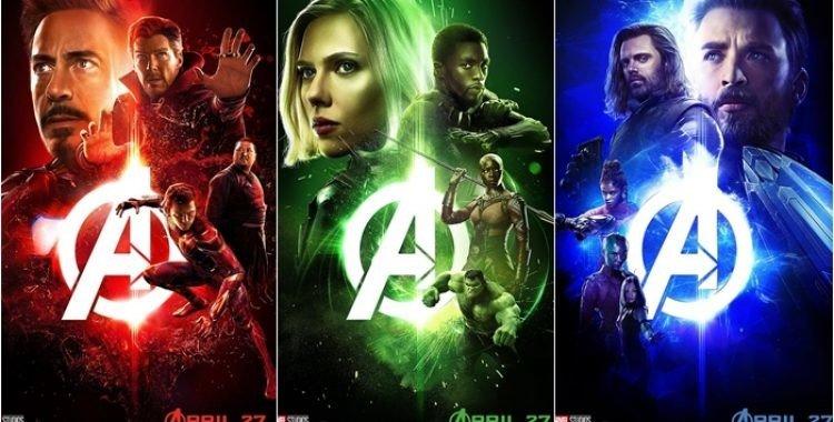 Imagens com alguns personagens dos Vingadores