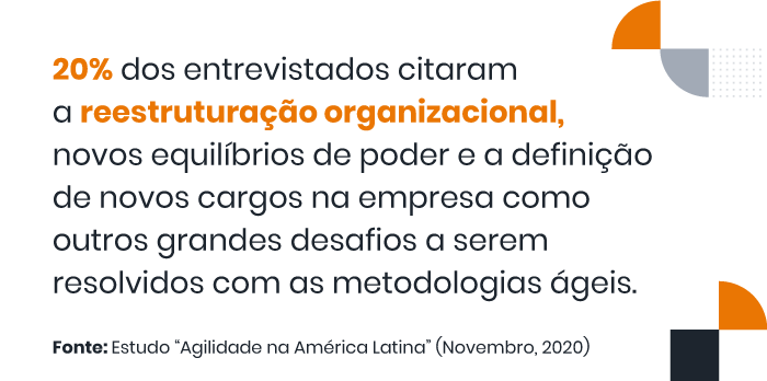 """frase do estudo sobre """"agilidade na américa latina"""""""