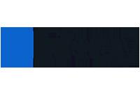 Logo Liferay nas cores preto e azul